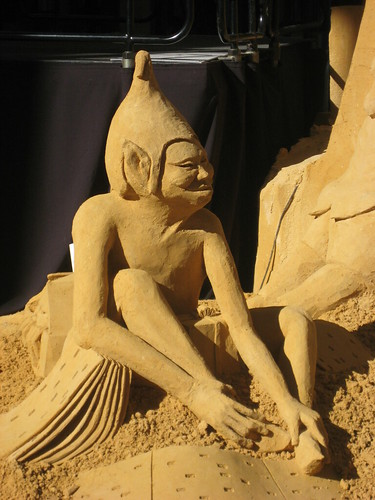 Sand Sculptures in Rundle Mall Adelaide