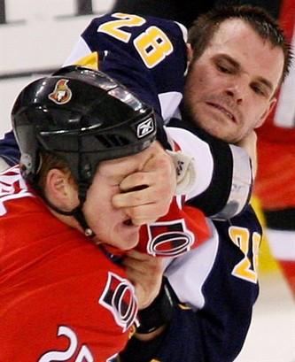 Sabres Senators Hockey