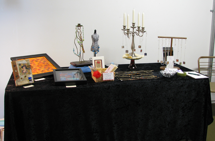 Display Table at Second Saturday