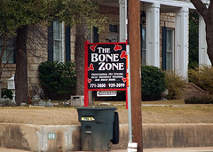 The Bone Zone (mattscoggin) Tags: sign texas fuji central sigma business bone zone belton s5 sexualinnuendo 50150mm