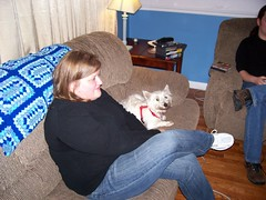 Lori and Marley Chilling (jeremyh113) Tags: wintereenmas