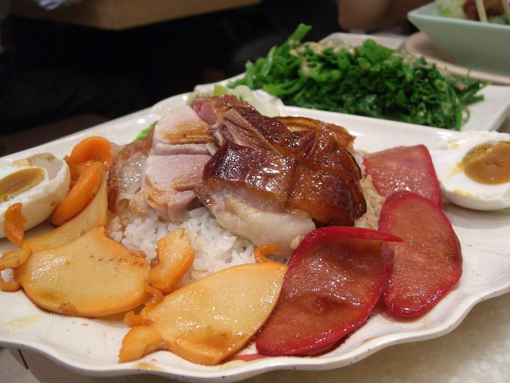 ????? 8-treasure Mixed Roast on Rice - Roasts Lunch in Mongkok