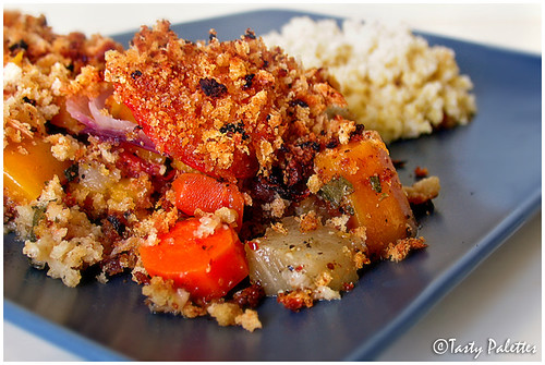 Millet With Root Vegetables Bake