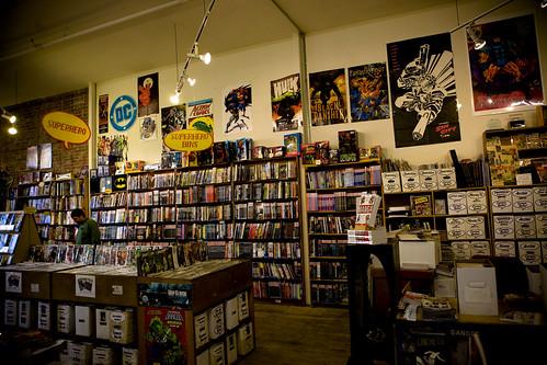 Comic Bookshop مكتبة قصص مصورة