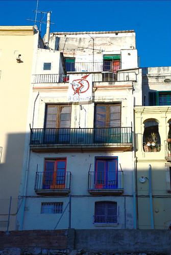 C.S.O.A La Colomera Tarragona - des de fora