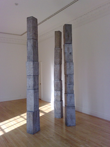 Figures Standing by Nick Evans at Inverleith House