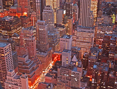 Bright Lights (The Wandering Angel) Tags: city travel newyork night buildings lights poetry cityscapes aplusphoto