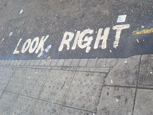 London! look right