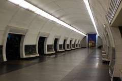 "Dorohozhychi metro station, Kiev, Ukraine • <a style=""font-size:0.8em;"" href=""http://www.flickr.com/photos/23347100@N06/2370707959/"" target=""_blank"">View on Flickr</a>"