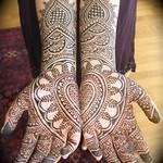 sri's mehndi hands