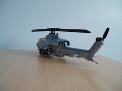 AH-1W SuperCobra (2) (Mad physicist) Tags: usmc model lego helicopter marines ah1 ah1w supercobra