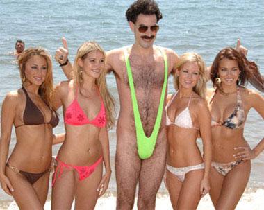 Borat en Bikini
