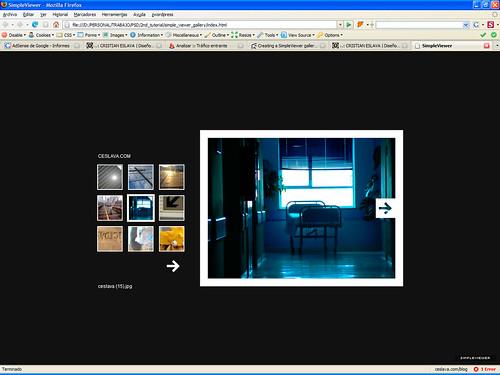 Creación de Galerías Web V | Simpleviewer y Lightbox JS desde Photoshop ceslava 6