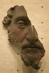 Portrait fragmentaire de Marc-Aurle, Muse du Louvre, paris, France (Mr-Pan) Tags: sculpture art history bronze kunst histoire kaiser pense emperor romanart geschichte empereur musedulouvre philosophe artromain marcaurle rmischekunst