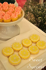 Rice Krispies Lemon Slices and Lemon Flavored Mini Cupcakes. (sweetsuccess888) Tags: sweetsuccess ricekrispies cupcakes lemon pinklemonade lemonslices desserttable dessertbuffet dessertbar eventstyling philippines pinklemonadeparty