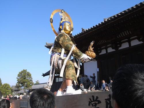当麻寺「練供養会式」-16