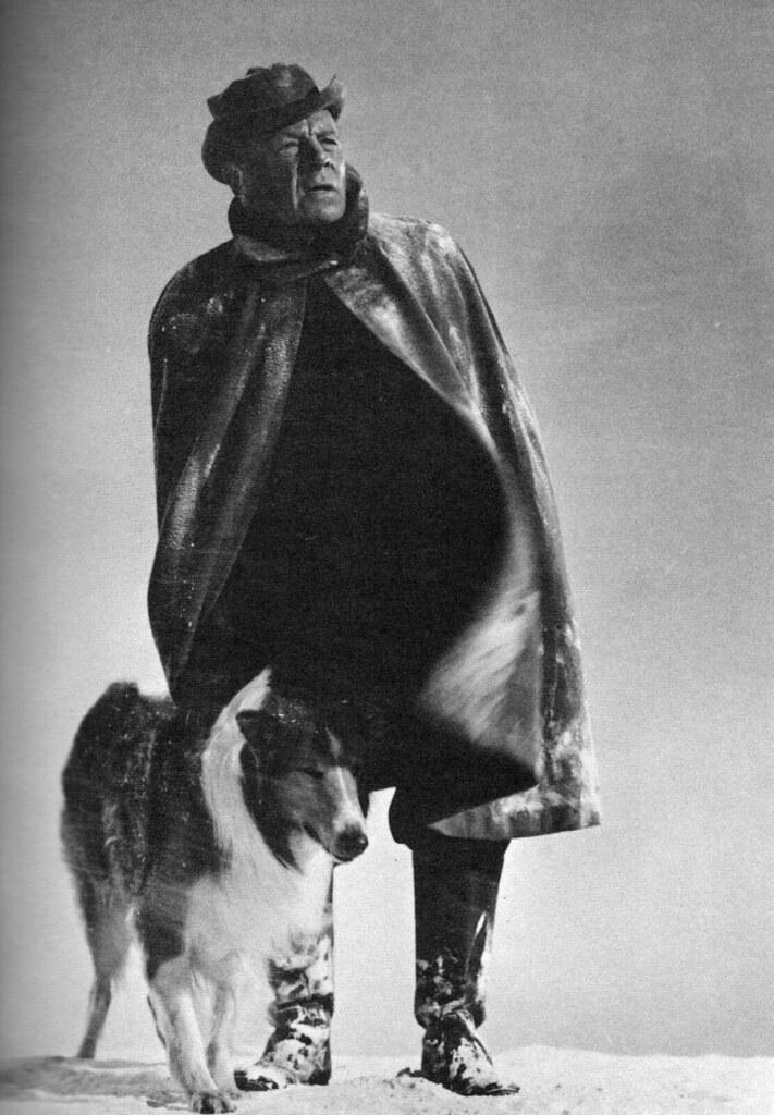 Edmund Gwenn and Lassie