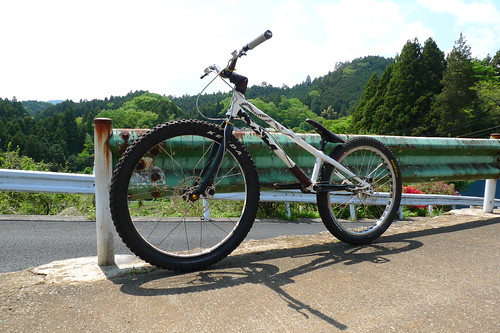 46er trMOZU Setting for Fun Trial Riding or Pass Hunting in Akiruno.