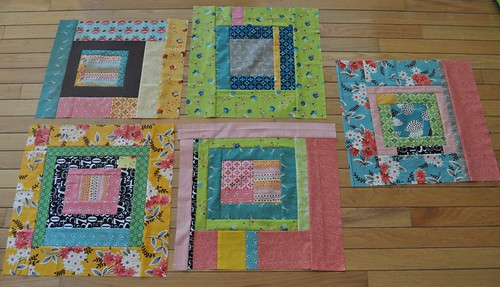 blocks for my naked bed challenge quilt