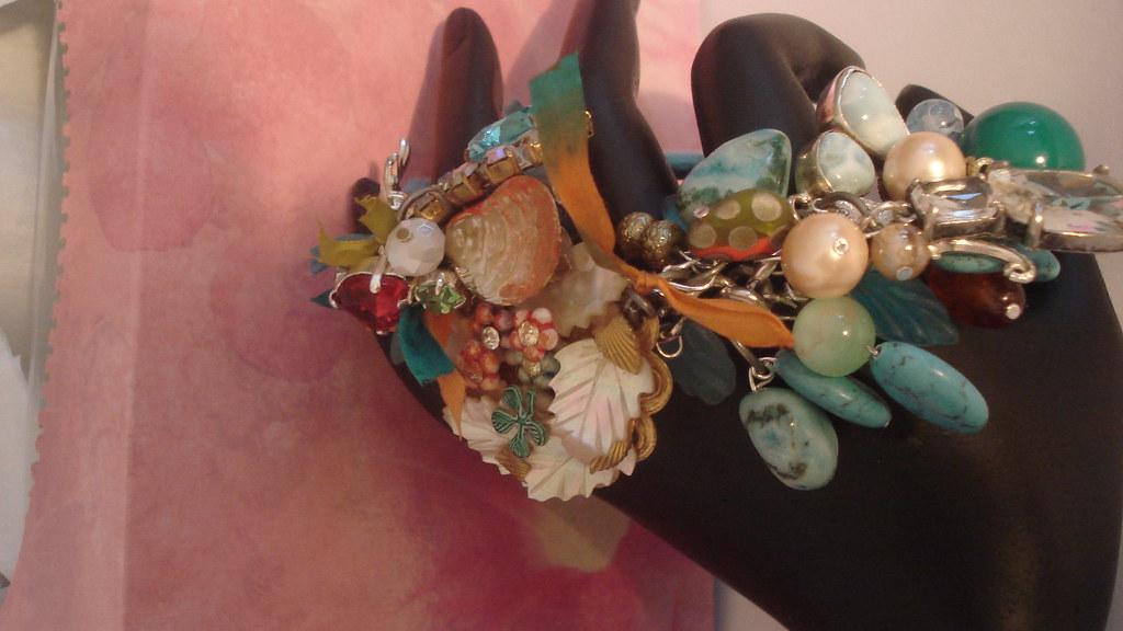 Vintage Charm Bracelet - The Mermaid Tide