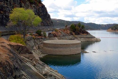 Monticello Dam Spillway