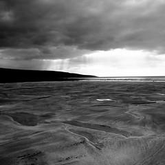 black beach (limerickdoyle) Tags: ireland blackandwhite beach landscape theburren irishbeach westcoast countyclare fanore beachshot efs1785mm canon400d