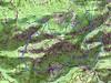 Carte de la Basse Lonca avec boucle Ota - Capu San Petru - Larata - Corgola - Col des Cascioni - Pont d'Ota - Ota