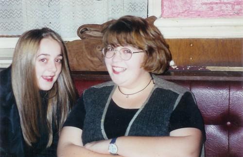 Jo and Cherry circa 1995
