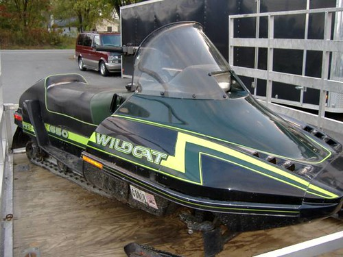 Arctic Cat Jag 500. Arctic Cat Wildcat 650