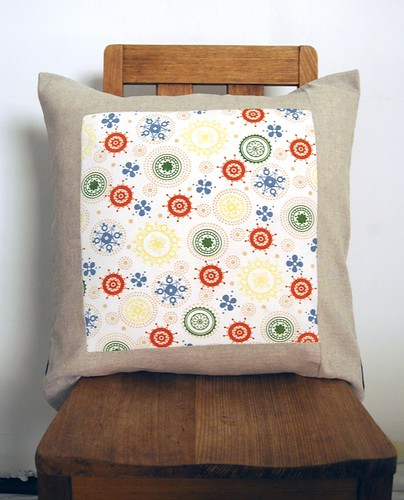 more vintage fabric cushion covers...