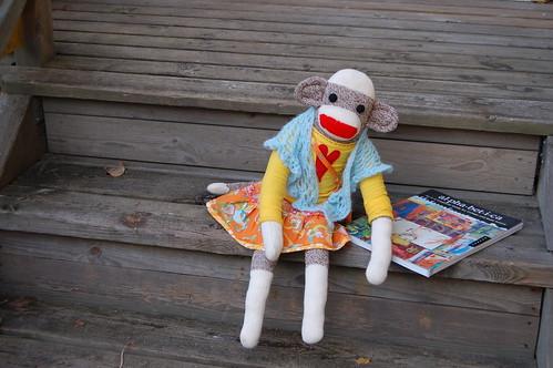 My friend the sockmonkey