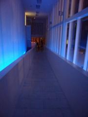 Quadrant hallway