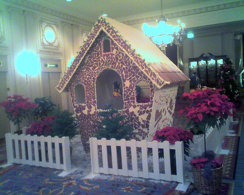 Chicago's Largest Gingerbread House