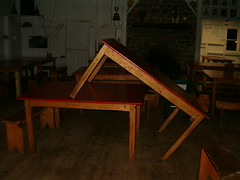 Who says tables can't have sex? (funkmagician) Tags: labourday redpinecamp