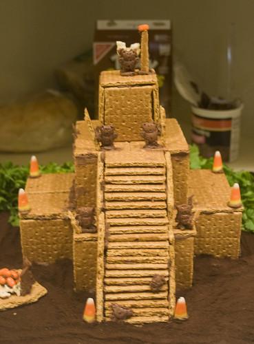 Chichen Itza Wins Ginger Bread House Contest American