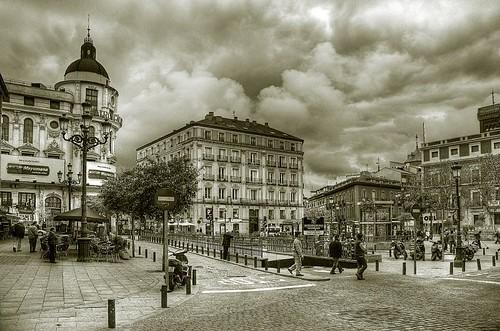 Plaza de Benavente virado