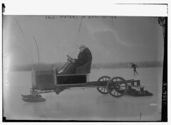 Fred Waters in Auto-Sleigh  (LOC) (The Library of Congress) Tags: winter ice iceskating fred waters driver skater libraryofcongress blade 1910s spikes frozenlake xmlns:dc=httppurlorgdcelements11 dc:identifier=httphdllocgovlocpnpggbain10081 fredwatersautosleigh motorsleigh fredwaters autosleigh poweredsleigh motorizedsleigh