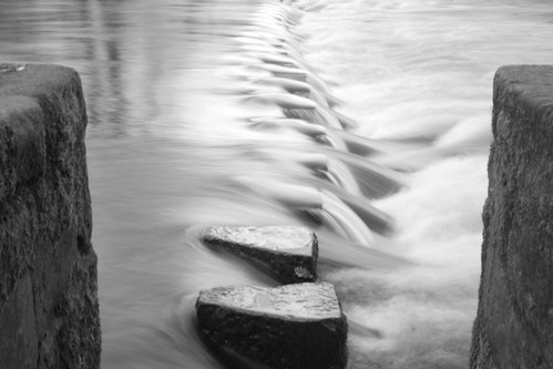 Ilkley stepping stones
