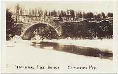 Casselman River Bridge, early 20th century