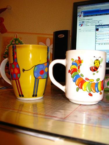 cups of tea