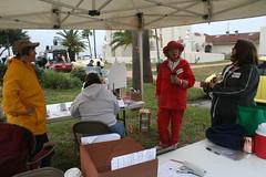 Setting Up Registration (Timothy Totten) Tags: ferranpark eustis125thcelebration carandboatshow marciaarnold