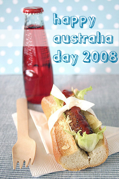 Sausage Lunch for Australia Day