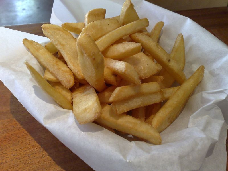 Half order of steak fries