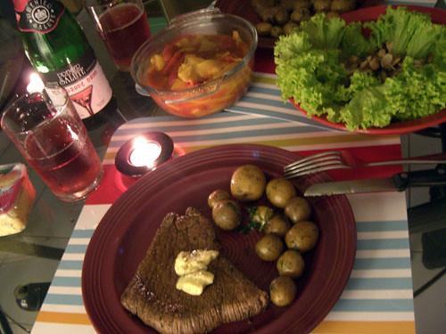 Valentine's Day Dinner.