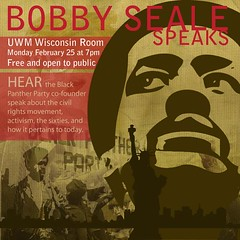 Bobby Seale at UWM