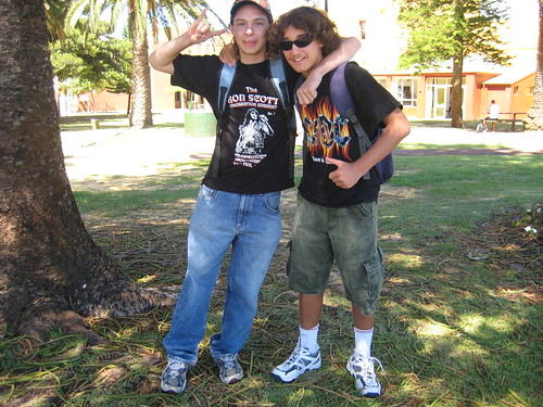 daniel and josh in freo