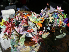 origami flowers (tanrazz) Tags: event publicmarket