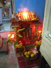 Shrine in a café