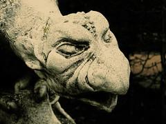 demons galore (keksdieb) Tags: old monster statue dark lyrics scary gargoyle demon 2oo5 beatsteaks demonsgalore