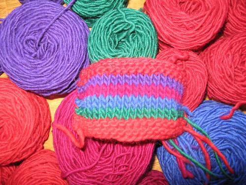 Bright yarn